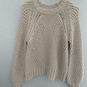 ivory american eagle sweater